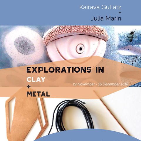 Explorations in Clay and Metal